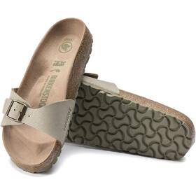 Birkenstock Madrid Sandals Birko-Flor Earthy Vegan Narrow Women, faded khaki